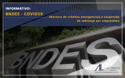 Abertura de créditos emergenciais e suspensão de cobrança por empréstimo