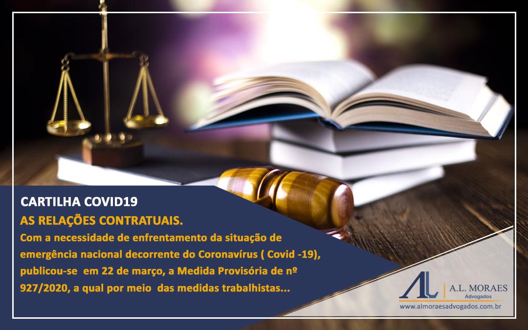 Cartilha COVID19 e as relações contratuais