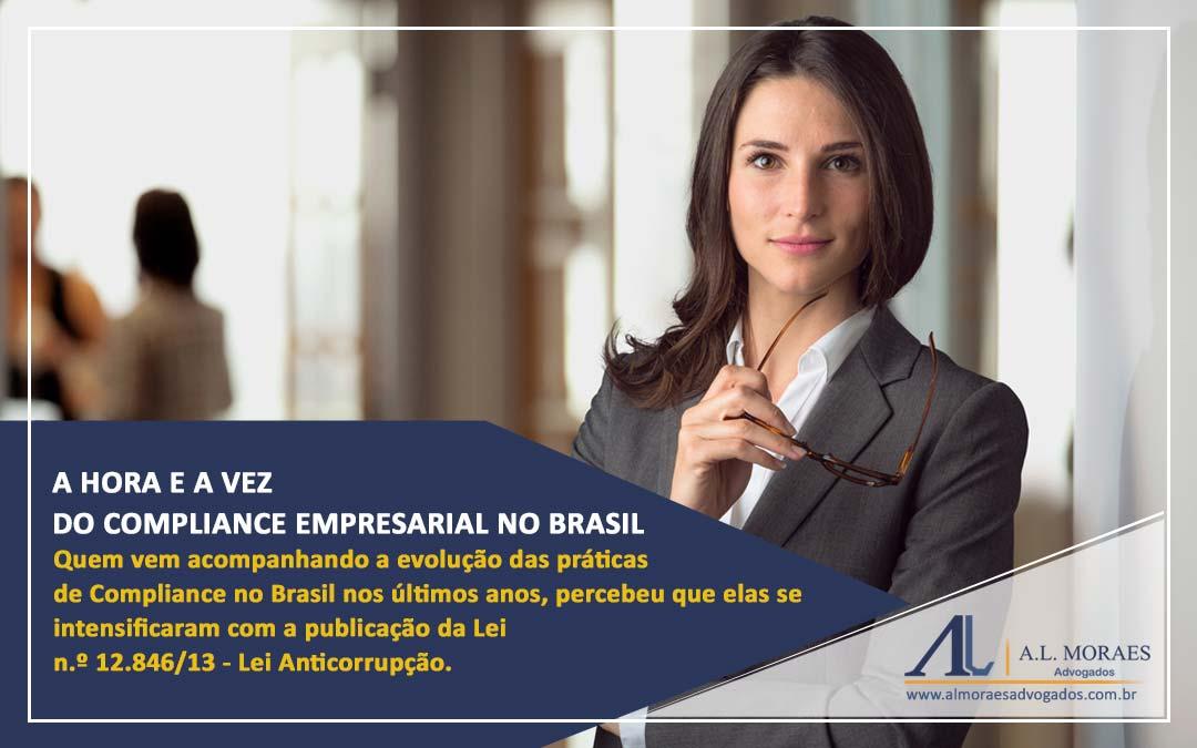 A hora e a vez do Compliance Empresarial no Brasil